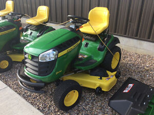 JOHN DEERE NEW 2015 LAWN TRACTOR BLOW OUT SALE SAVE UP TO $600.