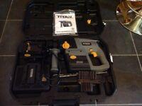 Titan 24v hammer drill
