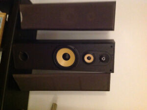 Two 150W speakers
