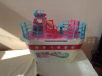 Barbie dream boat