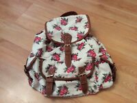 Shabby Chic Floral Back Pack