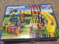 Playmobil city life toy set