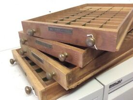 Coin Storage Drawers