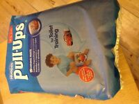 Huggies Pull-Ups unopened x 22 large