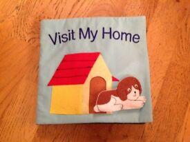 Felt book - Visit my home