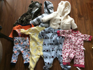 Baby boy clothes from 3-6 mths