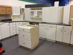 Factory Painted Kitchen Cabinets