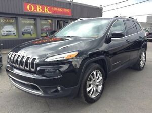 Jeep Cherokee 4WD LIMITED NAVI PANORAMIQUE 2014