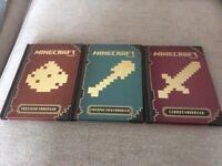 Minecraft Collection 3 Book Set.