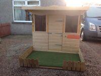 Kiddies garden fun house.