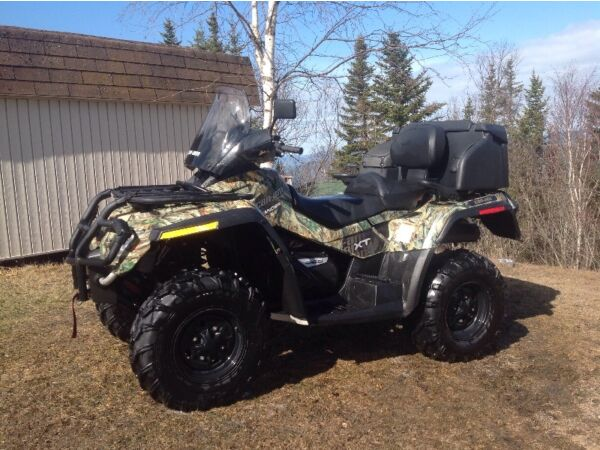 Used 2009 Can-Am Outlander max xt 650