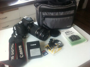 Canon Rebel EOS  T1i with 75-300 zoom