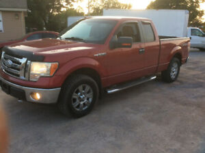 2009 Ford 150 xlt 4x4 4.6 shotbox 3mth powertrain Warranty$8000