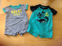 Vêtements pour garçons, 0-3 mois