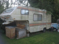 1985 181/2 foot 5th wheel