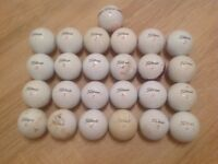25 TITLEIST GOLF BALLS