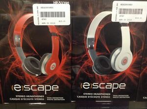 Escape Headphones, (NEW)!
