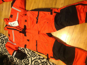 Helly Hansen 1 piece floater suit with harness