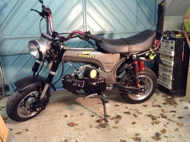 2016 kepspeed custom dax monkey bike 125 in torquay devon gumtree. Black Bedroom Furniture Sets. Home Design Ideas