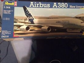 Revell Airbus A380 model