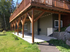 1BR Apt Quispamsis Walk Out/ Own Patio/Paved Drive
