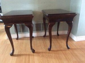 Bombay Company- 2 X Cherry Wood Tables **Price Drop**