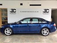 2013 Audi A4 2.0 TDI S Line 4dr Diesel blue Manual