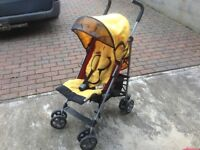 Hauck lightweight foldable pushchair/buggy