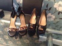 Brand new size 4 high heels
