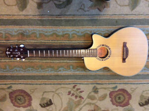 Crafter CTS 150/N acoustic/electric guitar