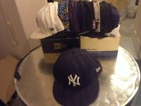 SNAPBACKS AND FITTED CAPS