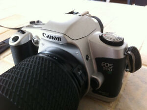 Canon EOS 500 N Film Camera with 28-210 mm Zoom Lens & UV Filter