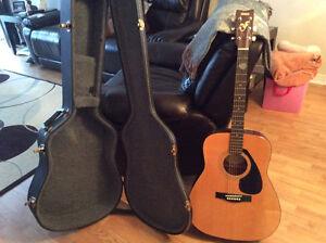 Guitar and case for sale
