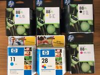 Printer cartridges- new unopened