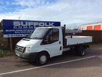 FORD TRANSIT TIPPER- 2.4TDCi-**1 OWNER-NO VAT**