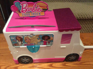 Mattel Barbie Food Truck with Accessories