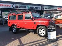 2013 LAND ROVER DEFENDER 2.2 TD XS STATION WAGON 7 SEATER FSH 122 BHP DIESEL