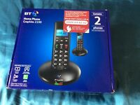 BT 6500 TWIN DIGITAL CORDLESS PHONE WITH ANSWER MACHINE