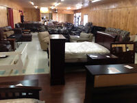Furniture (new and used), Mattresses, General Merchandise.