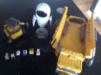 Job lot of walle toys