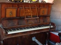 Old church style piano
