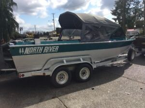Aluminum Jet Boat North River $42,000