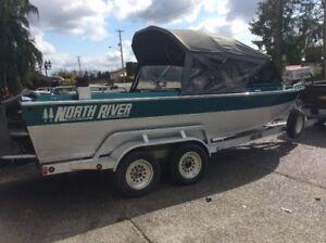 Aluminum Jet Boat North River $39,900