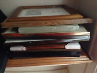 Picture frames - various sizes