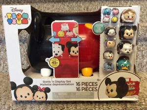 New! Disney Tsum  Tsum stack and display set