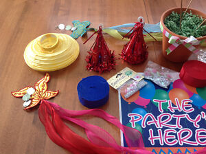 Birthday Party Supplies- Girl's