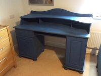 Two Tier Pine Desk - Ideal Shabby Chic Project