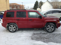 2007 Jeep Patriot 4cyl 2x4 et 4x4;tps et 1an garantie inclus