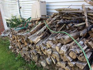Very dry wood for wood stove
