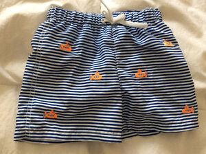 Children's place Boy swim shorts size 3-6 months